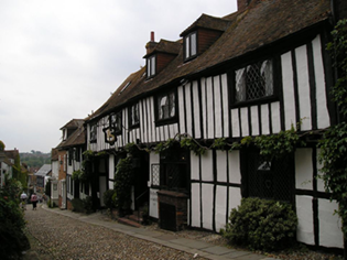 Tudor House in Rye town