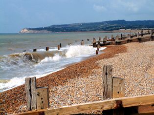 Winchelsea beach between Hastings and Rye