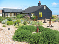 Derek Jarman's garden at Dungeness near Rye