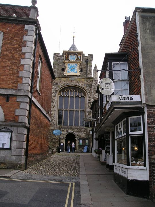Places to visit Rye : St Mary's church Rye